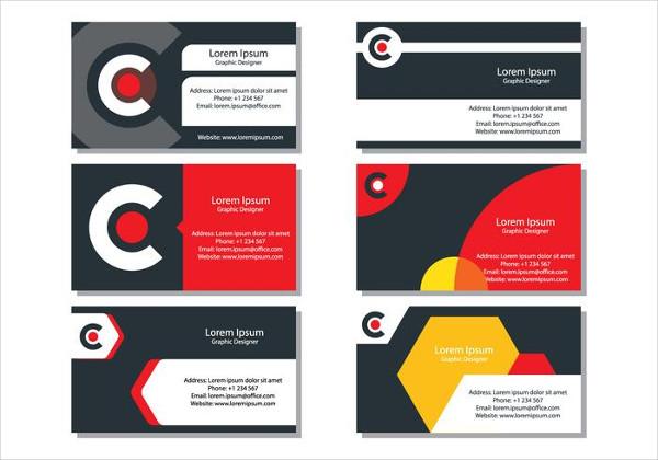 Set of DJ Business Cards Free Download