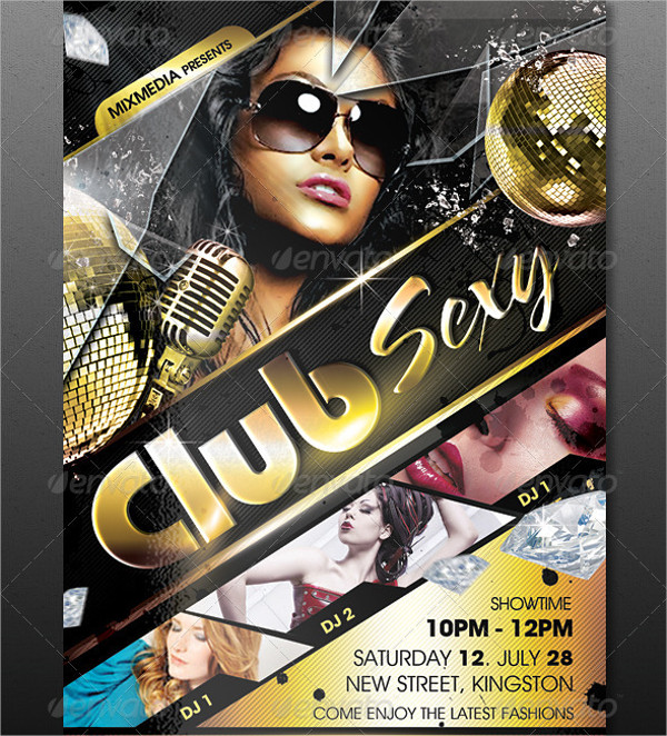 Club Sexy Flyer Template