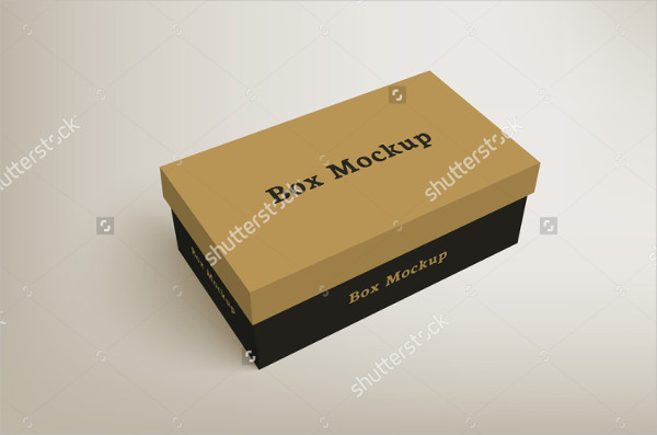 Shoes Product Packaging Mock-Up