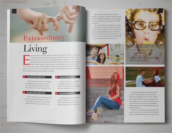 Lifestyle Showcase Magazine Template