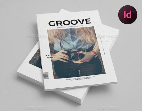 Simple Lifestyle Magazine Template