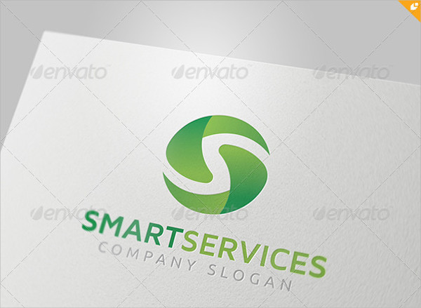 Smart Services Logo Template