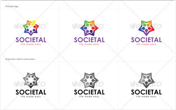 Social Community Logo Template