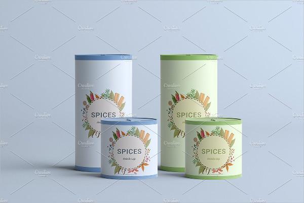 Spices Jar Mock-Ups