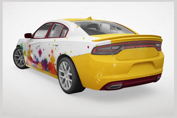 Sports Car Mockups Design