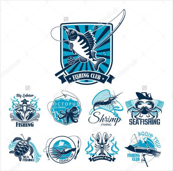 Fishing Club Sea Trip Badges