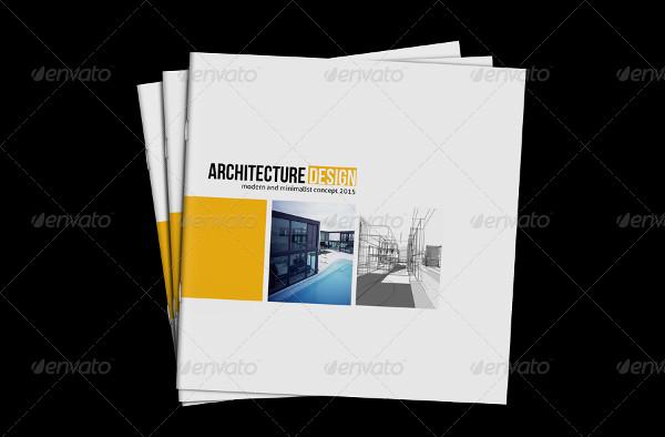 Square Architecture Design Brochure Template