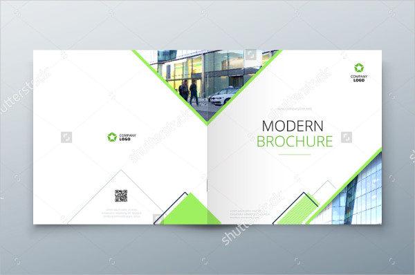 Square Brochure Design for Architecture