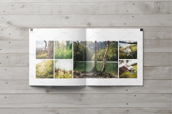Square Portfolio Showcase Brochure Template