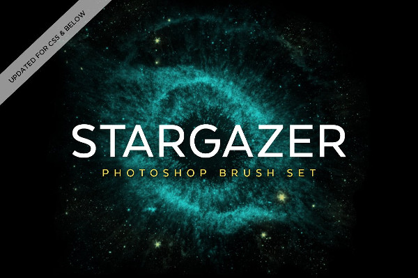 Stargazer Photoshop Brush Set