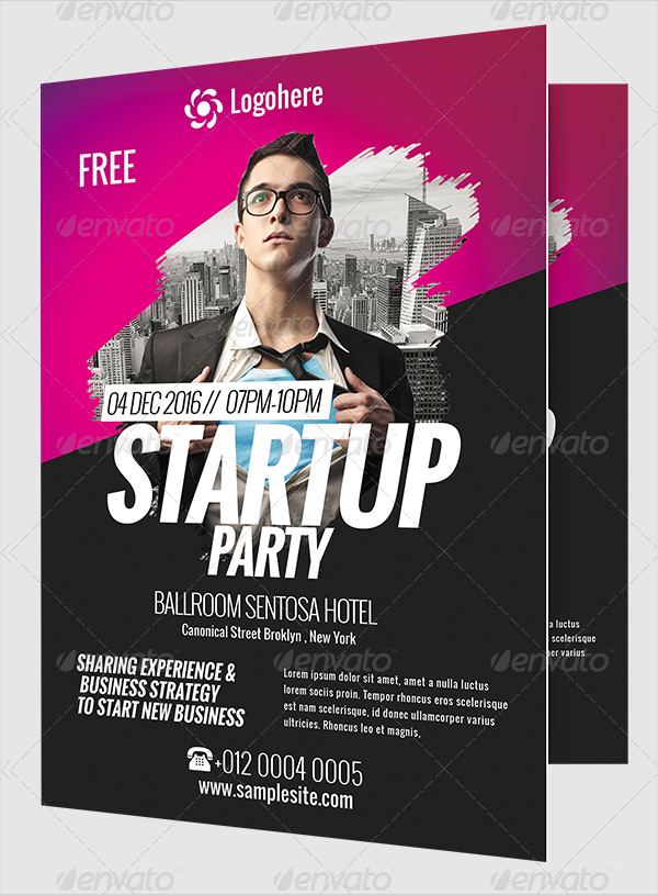 Startup Business Event Party Flyer