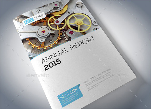 Stylish Annual Report Brochure