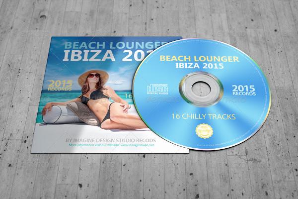 Stylish CD Sleeve Mockup