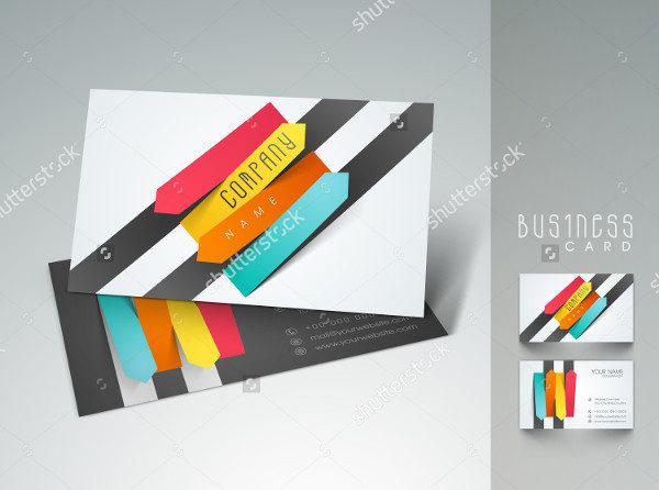 Stylish Designer Business Cards Set
