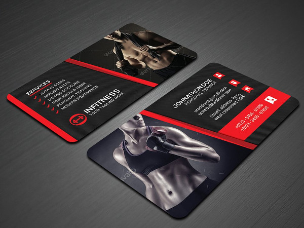25 fitness business card templates free premium download stylish fitness business card design colourmoves
