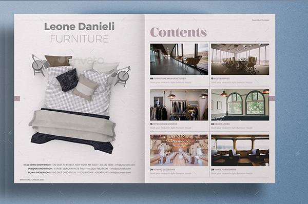 Stylish Interior Design Brochure