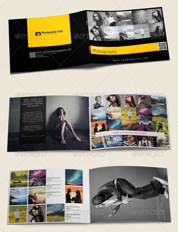 Stylish Photography Portfolio Brochures Bundle