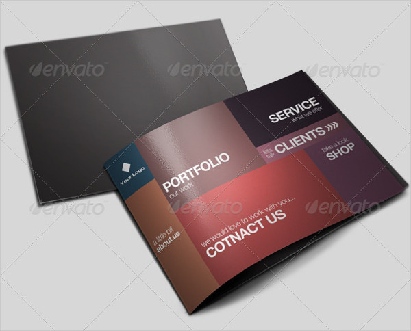 Clean Portfolio Agency Brochure Template