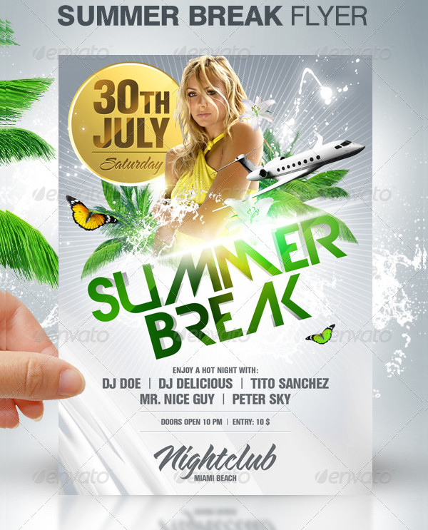 Perfect Summer Break Flyer