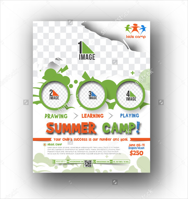 Summer Break Camp Flyer Template