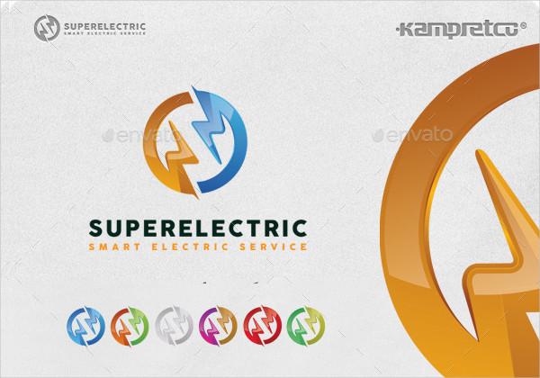Super Electric Service Logo