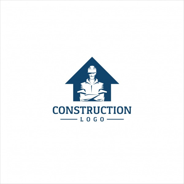 Free Vector Logo Template for Construction Company