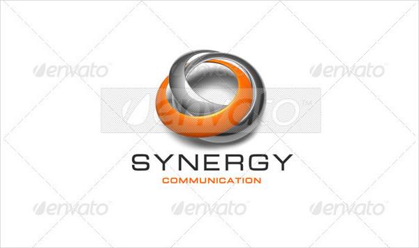Synergy Communication Logo Template