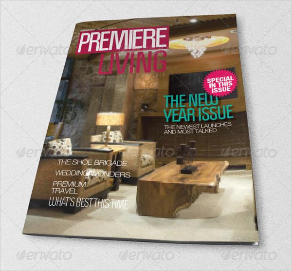 Lifestyle Stylish Magazine Template