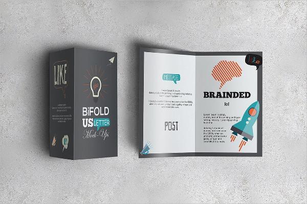 US Bi-Fold Letter Brochures