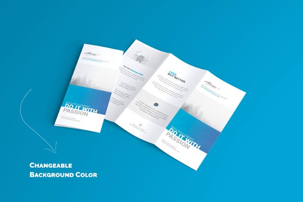 US Letter Trifold Brochure