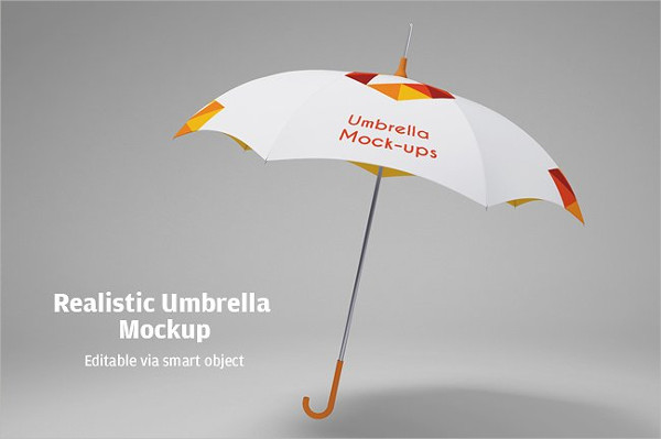 Umbrella Promotion Mockup