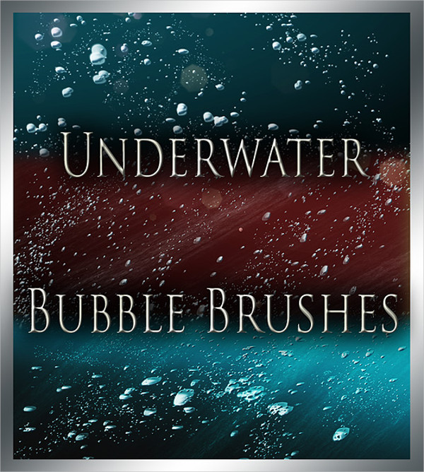 Underwater Bubbles Brushes