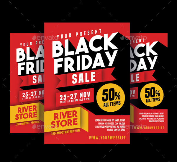 23 black friday sale flyer templates free premium download