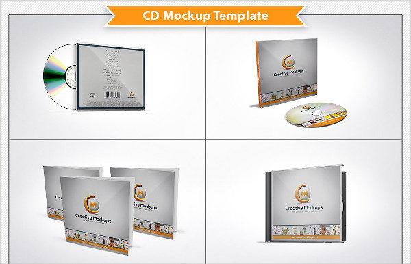 Unique CD Mockup Template