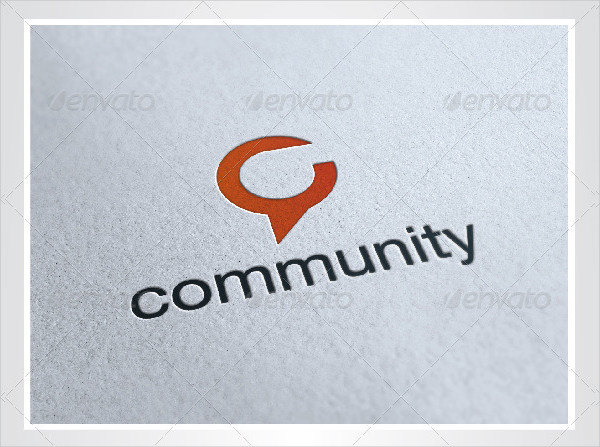 Unique Community Logo Template