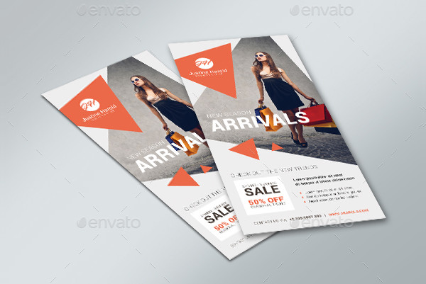 Unique Fashion Flyer Template