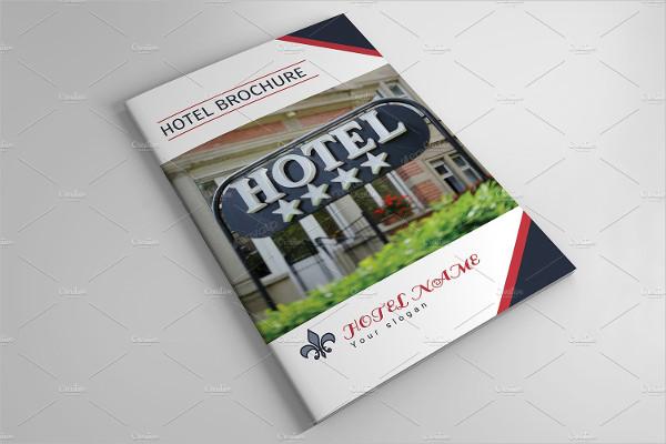 Unique Hotel Business Brochure Template