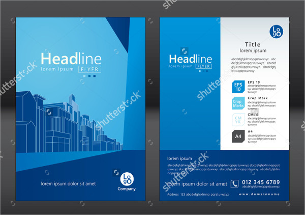 Vector Architecture Flyer or Brochure Template