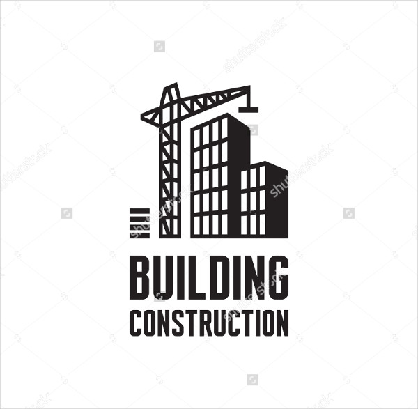 Construction Building Vector Logo Template
