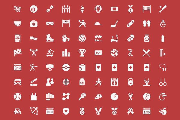 200 Sports Vector Icons