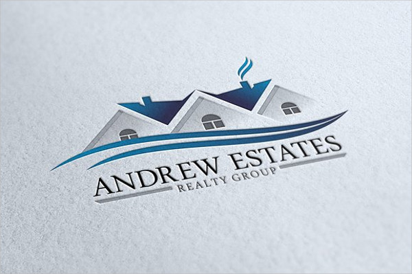Senior Real Estate Specialist Logo Template