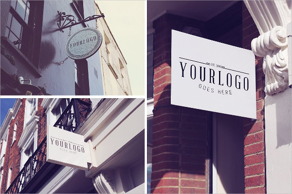 Vintage Shop Sign Mock-Ups Bundle