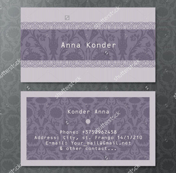 Best Vintage Style Business Card Template