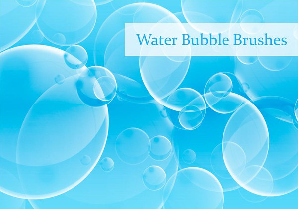 Water Bubbles Brushes