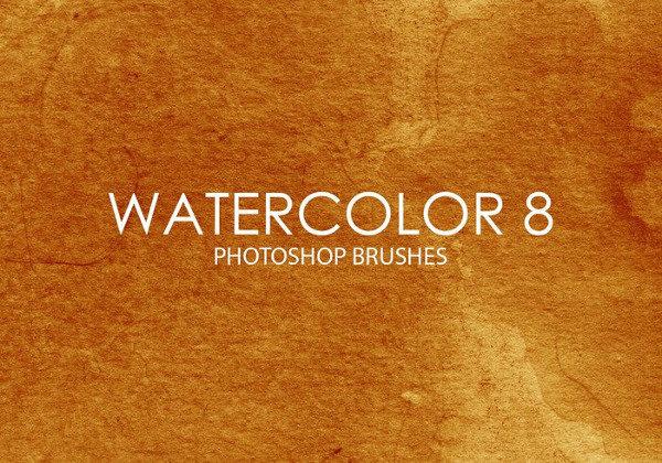 8 Watercolor Brush Pack Free Download