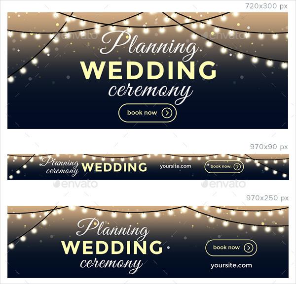 Wedding Advertising Banners
