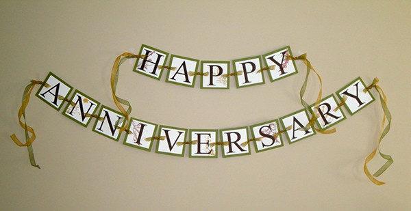 PSD Wedding Anniversary Banners