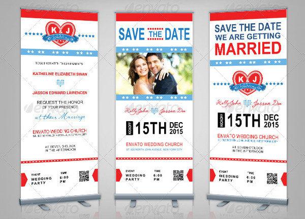 Wedding Rollup Banner & Sports Pass