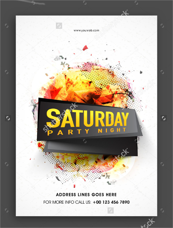 Weekend Musical Party Flyer Template