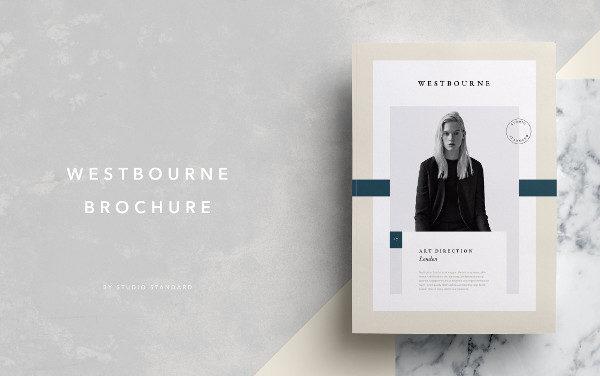 Letter Portfolio Brochure Template